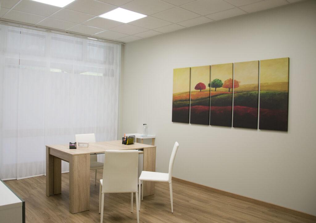 Sala Incontri Centro moveo Psicologia Psicoterapia Bergamo
