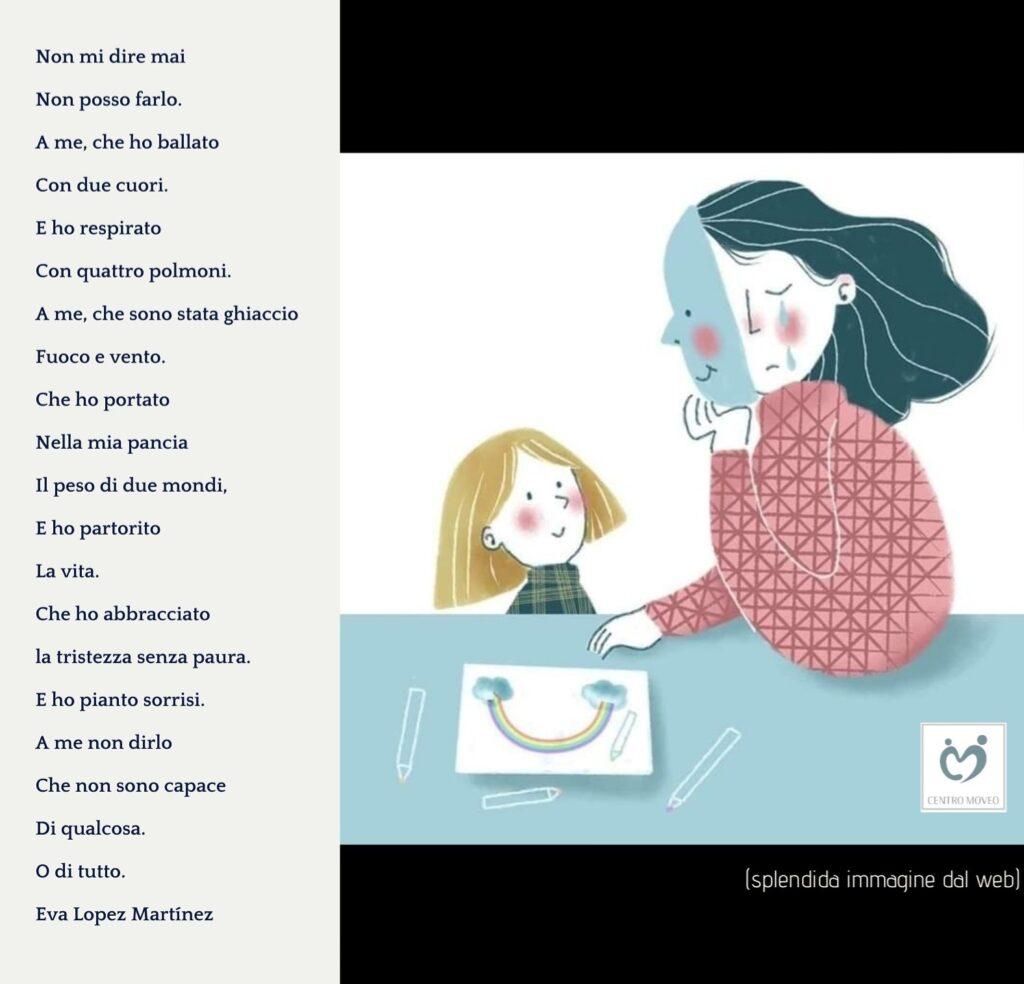 Poesia che descrive la forza della madre psicologia psicoterapia psicologo bergamo psicoterapeuta
